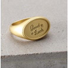 Mavin Oval Ring - GD